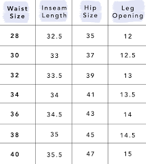 All Inclusive Tommy Jeans Size Guide 2019