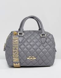 Love Moschino   Love Moschino Quilted Bag With Detachable Shoulder ... & Love Moschino   Love Moschino Quilted Bag With Detachable Shoulder Strap Adamdwight.com