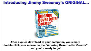 Amazing Cover Letter Creator How Amazing Cover Letter Creator Works Youtube
