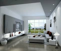 Modern Living Room Idea Stylish White And Grey Wall Colors For Modern Living Room