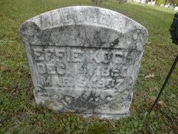 Effie Wolfe Koch (1850-1907) - Find A Grave Memorial