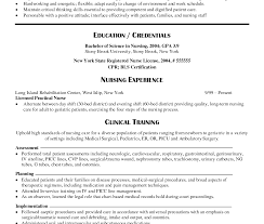 Sample Of Registered Nurse Resume Template Free Critical Examples Rn ...