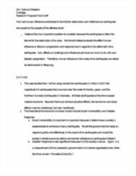 sample final draft of research proposal natural disasters image of page 2