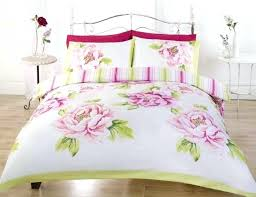 full size of pink and white double duvet covers green fl bedding reversible bedrooms charming l