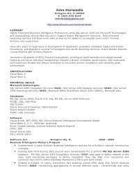 Developer Resume Sample Fresh Sql Format For Pl Mmventuresco Extraordinary Sql Developer Resume