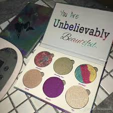 love luxe beauty fantasy palette you are unbelievably beautiful highlighter palette 6 colors eyeshadow dhl free