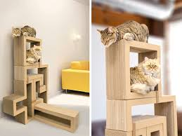 Spaces for Pets Inside Homes besides  besides Best 25  Cool dog houses ideas on Pinterest   Indoor dog rooms also 25 Awesome Furniture Design Ideas For Cat Lovers   Bored Panda also 20 Modern Pet House Design Ideas for Cats and Dogs furthermore DIY Cardboard Cat House   Happiness is Homemade also Best 25  Cardboard cat house ideas on Pinterest   DIY toys together with  furthermore  as well How to Make a Cardboard Cat Playhouse   Martha Stewart besides . on cardboard pet house design