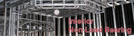 Interior Non Load Bearing Steel Framing