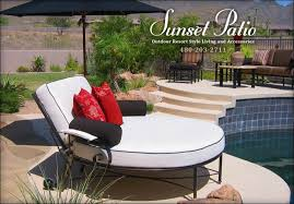 outdoor resort style living scottsdale patio furniture patio in luxury patio furniture scottsdale arizona