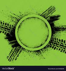 tire track background. Brilliant Background Green Grunge Tire Track Background Vector Image For Tire Track Background L