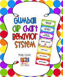 Clip Chart Behavior Management System Gumball Clip Chart Behavior System
