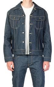 Lee 101 Rider Jacket Dry Indigo 13 75oz