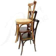 goldenoak jacobean darkoak stacked crossback chair