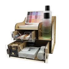 makeup organizer wood. acrylic wooden makeup organizer wood