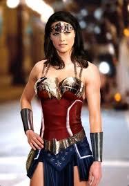 A Beautiful Wonder Woman Outfit