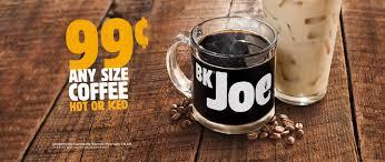 The bk café drinks menu includes: Burger King Launches New Bk Joe Coffee Blend Vending Market Watch