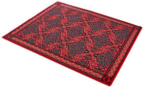 thomann drum rug oriental red