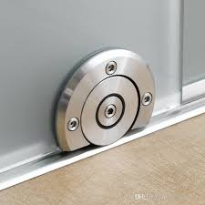 glass sliding door bottom roller stainless steel frameless sliding glass door system floor roller for interior door