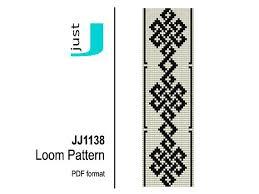 Loom bracelet pattern <b>beaded</b> bracelet celtic <b>bead</b> pattern | Boncuk ...