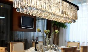 rectangular dining room chandelier stunning cool lighting ideas crystal including lovable modern favored best niche pendant in the hilton london heathrow