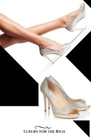 White Designer Shoes Heels Luxury Shoes Jimmy Choo High Heels Luxury Shoes Luxury