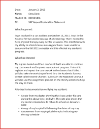 Best Of Appeal Financial Aid Letter Resume For A Job