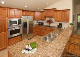oak kitchen cabinets with granite countertops. Kitchen Design With Granite Countertops Terrific Bathroom Accessories Plans Free Decoration Ideas Oak Cabinets L