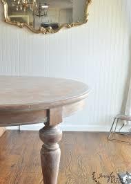 whitewashing wood furniture. simple wood table after diy whitewash painting technique in whitewashing wood furniture
