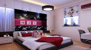 Purple Flower Wallpaper For Bedroom Sexy Bedroom Design Black Mirror Vanity Ideas White Fabric Bed