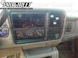how to gmc sierra stereo wiring diagram u2016 my pro street within 2000 gmc sierra 1500 wiring diagram