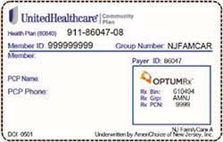 Nj Familycare Using Your Benefits