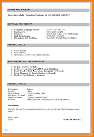6 Fresher Teacher Resume Format In Word Trinity Training