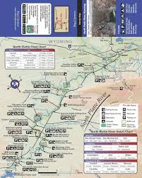 Wyoming Hatch Chart Amazon Com Map The Xperience North Platte River Wyoming