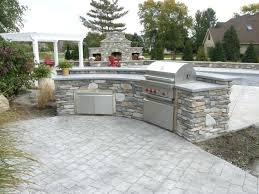 outdoor kitchen material best bar grill images on home beautiful countertop
