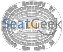 Msg Seating Chart Concert With Rows Msg Seating Chart Concert