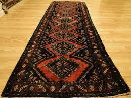 persian handmade wool hamadan red olive gold brown