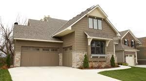 smooth v groove overlay midland overlay thermosteel garage doors