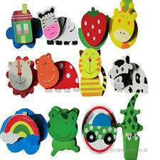 lufa 12pcs set wooden fridge magnet kid baby toy cartoon animal fruit fridge magnets message
