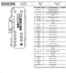 radio wiring diagram mercury monterey radio wiring diagrams online