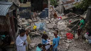 Haiti earthquakes: Comparing recent ...