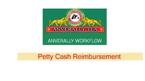 Petty Cash Reimbursement 08 Anverally Workflow Petty Cash Reimbursement Youtube