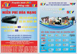 Chi nhánh Công ty TNHH truyền hình cáp Saigontourist - Tỉnh Sơn La - TRUYỀN  HÌNH HD - ĐẲNG CẤP SCTV