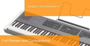 Digital Piano Comparison Chart Digital Piano Dexibell Vivo Portable P7 Full Review Is It A