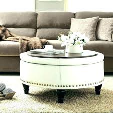 large ottoman coffee table. Square Fabric Ottoman Gorgeous Large Coffee Table Round .