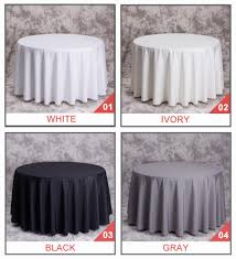 big size polyester white round table cloth wedding tablecloth party table cover square dining table linen rectangular whole