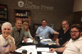 wsn s first writers roundtable tuesday march 1 2016 at the coffee press