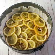 Meyer Lemon Upside Down Polenta Cake Life Love and Good Food