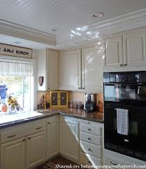 lighting for a small kitchen. Kitchen Renovation With White Cabinets, Granite, Recessed Lighting 08 For A Small L
