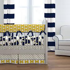 university of michigan crib bedding