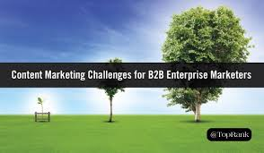 New Report: Top Content Marketing Growing Pains for B2B Enterprise  Marketers | by oneQube | oneQube | Medium